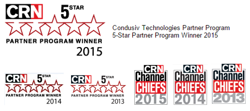 CRN Partner Program Winner 2015 Logo